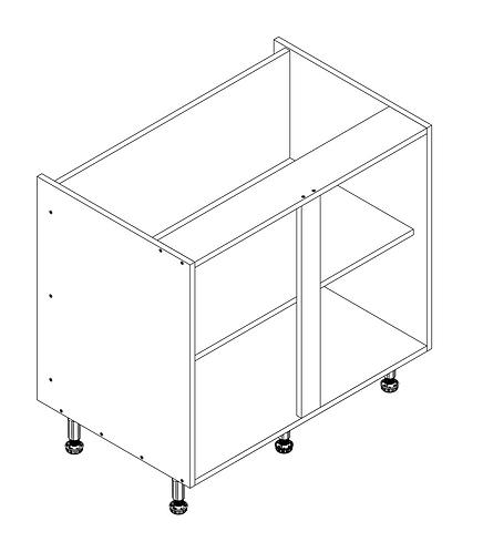 900mm Base Cabinet