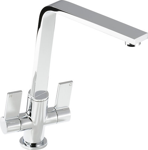 Dual Lever Chrome tap
