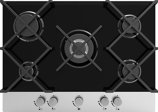 Gas On Glass Hob