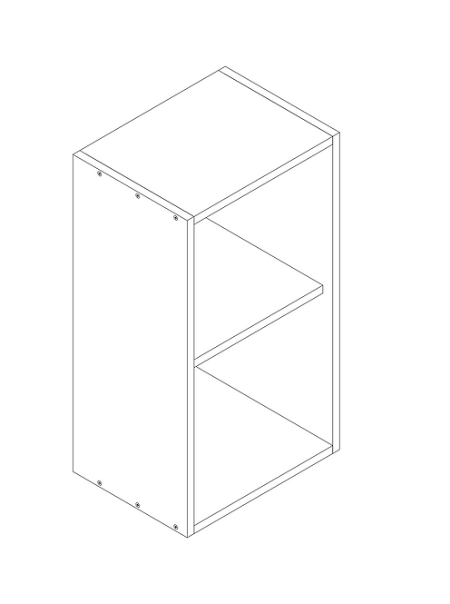 400mm Wall Cabinet