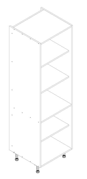 600mm Tall Larder Cabinet