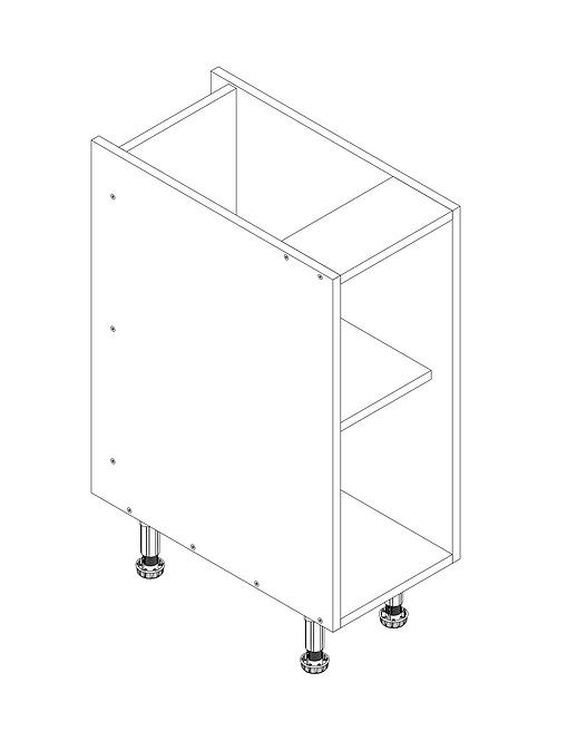 300mm Base Cabinet