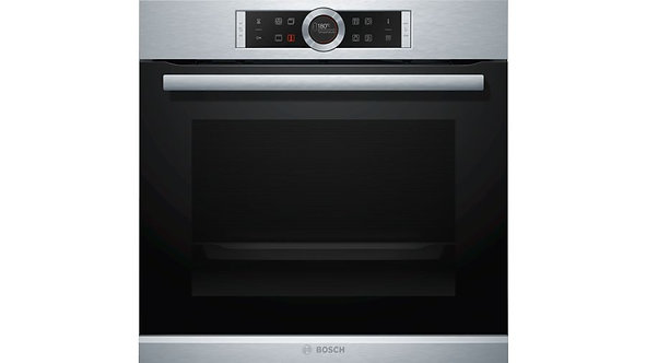 BOSCH HBG674BS1B Built-in Pyrolytic Single Electric Oven