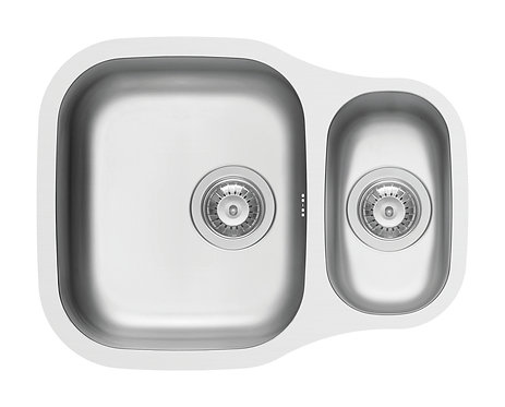 Bowl & Half Undermount Sink