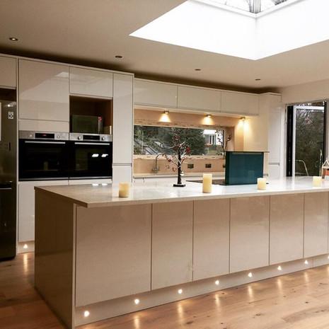 Modern Contemporary Kitchen - Wilmslow