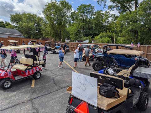 Golf Cart Run