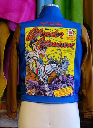 Fight the Virus Jacket: Wonder Woman