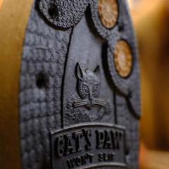 Shoe heel close-up