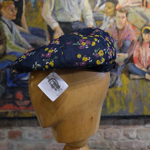 Floral cigar cap