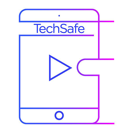 Illustration phone with TechSafe title