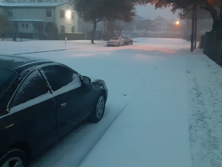 Dallas rail and Houston port suffering major setbacks after snow storm Uri rips through Texas