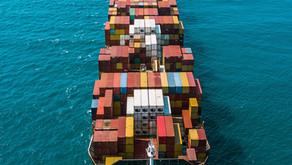 Ocean carriers experiencing severe backlog of vessel bookings.