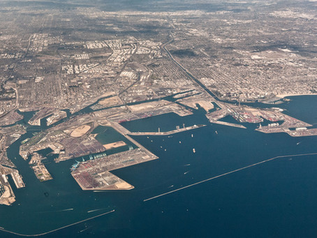 Vessel wait times in LA - Long Beach surpass levels during 2014-2015 port strike.