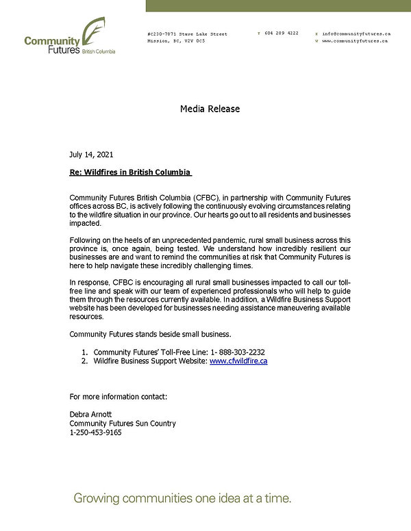 Community Futures BC Press Release Wildfires 2021.jpg