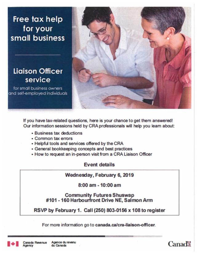 Free Tax Information Workshop