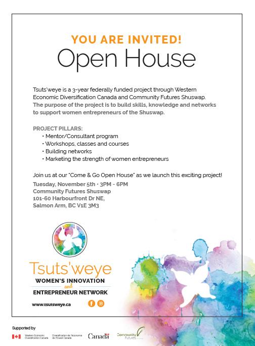 Tsuts'weye Open House
