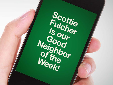 Our Good Call of the Week Goes to Scottie Fulcher.