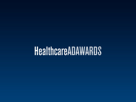 Our Work Recognized in the Healthcare Advertising Awards Competition