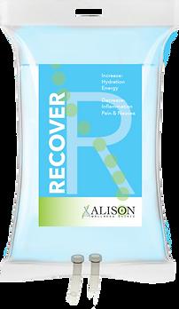 Alison Wellness IV Drip Label