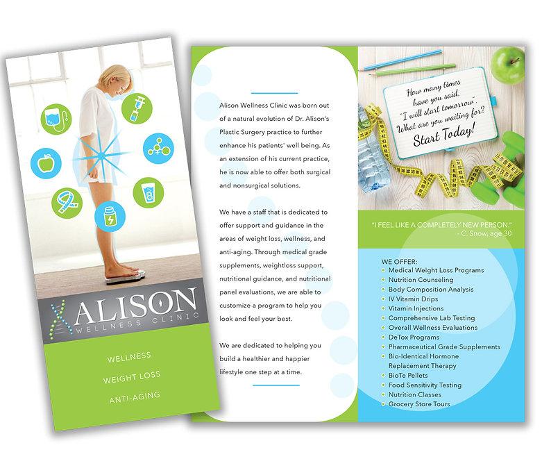 Alison Wellness Clinic brochue