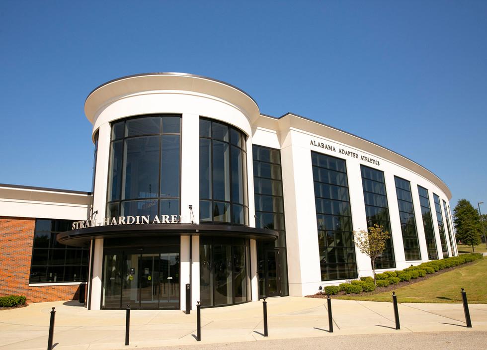 The University of Alabma Adapted Athletic Facility Stran-Hardin Arena
