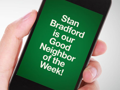 Our Good Call of the Week Goes to Stan Bradford