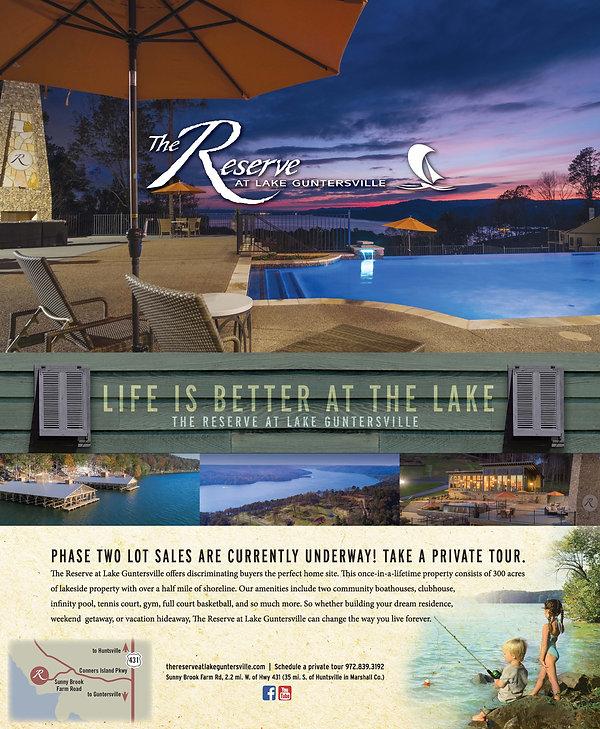The Reserve Magazine ad