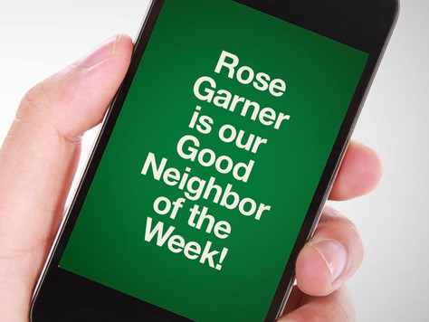 Our Good Call of the Week Goes to Rose Garner