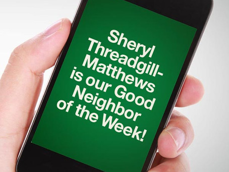 Our Good Call of the Week Goes to Sheryl Threadgill-Matthews