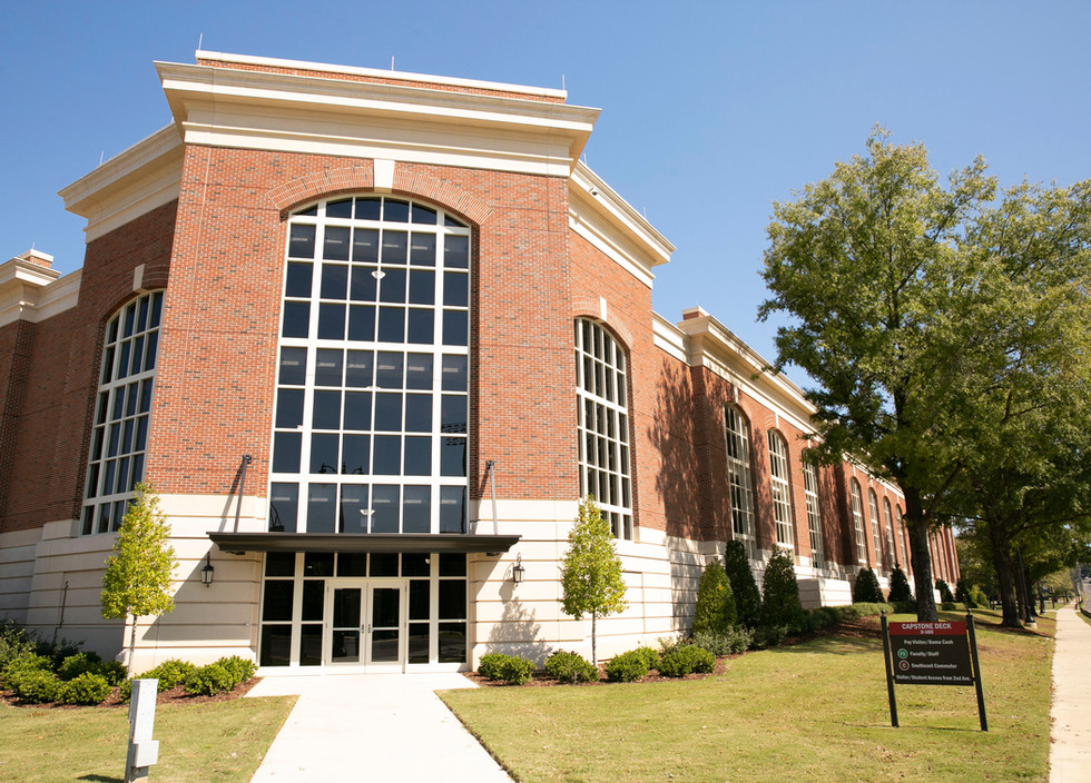 The University of Alabama Capstone Parking Deck