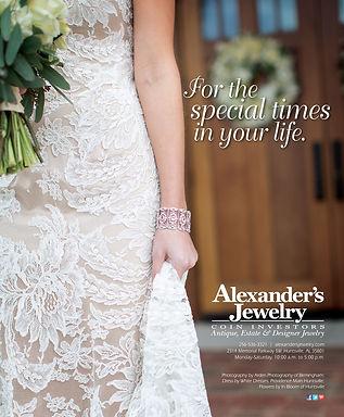 Alexander's Jewelry Magazine ad