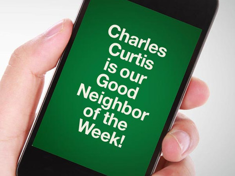 Our Good Call of the Week Goes to Charles Curtis