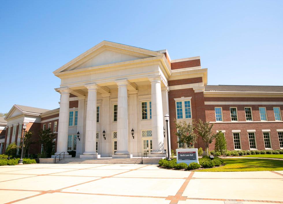 The University of Alabama North Lawn Hall