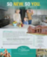 Stoneridge Homes ad featuring The Meadows