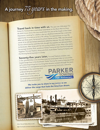 Parker Towing Ads