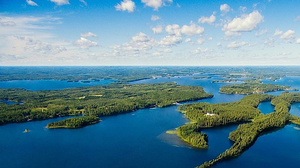 Picture from Finland, lakes.