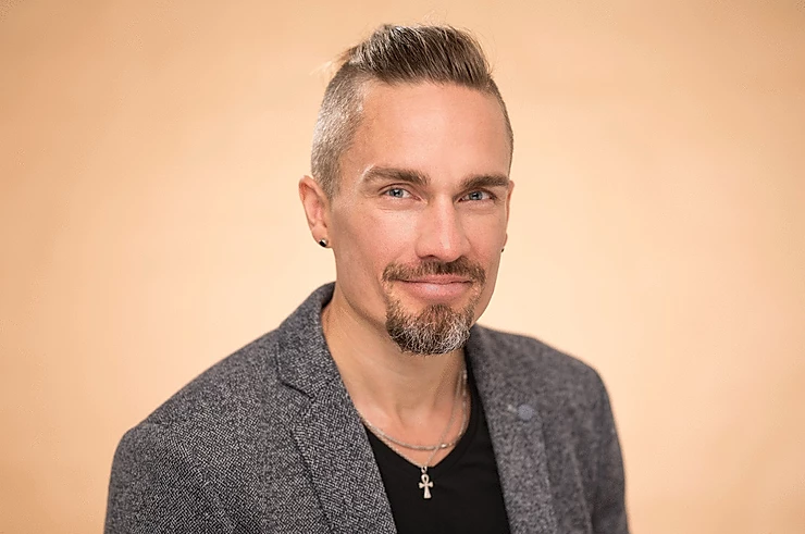 Picture of Jani Moberg, the writer of the article