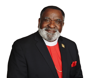 Bishop McGriff -Red Clergy   Shirt_Trans