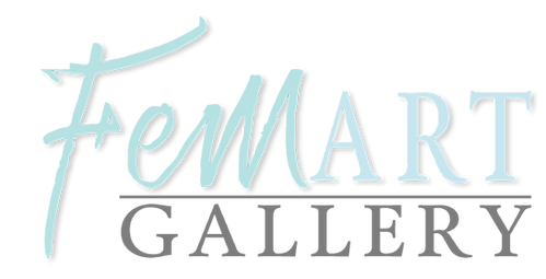 FemArt Logo in Gray and Green.png