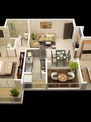 CRD Gardenia Terrace Flats in Palghar
