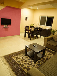2 BHK Deluxe Villa - Living Area