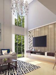 The White Villas Kasara - Living Room