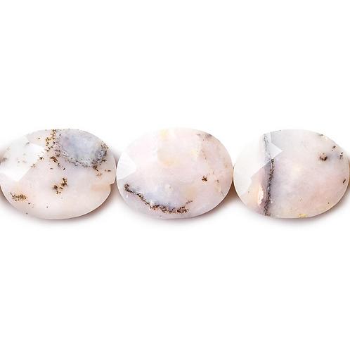 Pink Peruvian Opal Pacifier Clip
