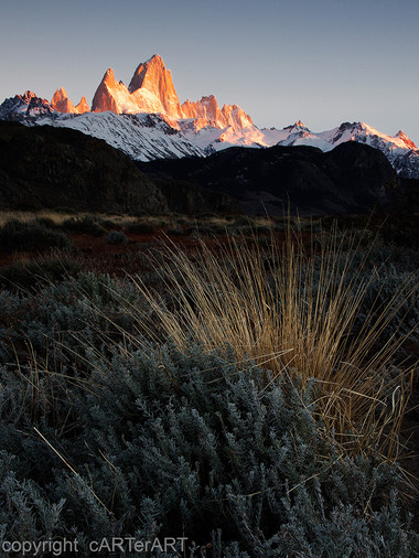 Fitz Roy from The Steppes