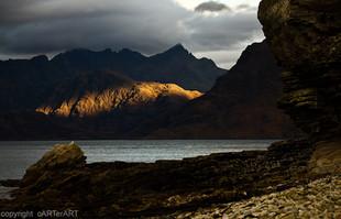 Last Light. Skye. Scotland