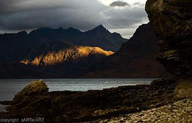 Last Light. Skye. Scotland