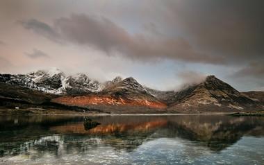 Loch Slapin. Sunrise Calm