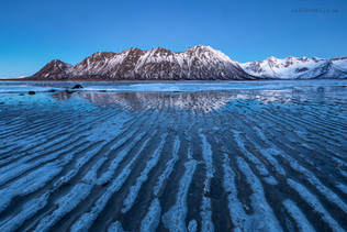 Grunnfjorden Blue Hour