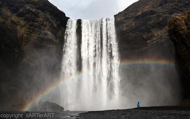Skógafoss Rainbow
