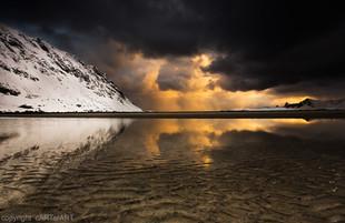 Dawn. Sandbotnen, Fredvang